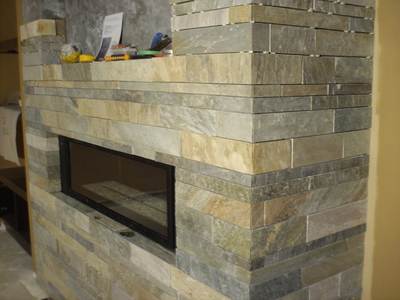 Fireplace - Shaunessy Golf and Country Club - Construction